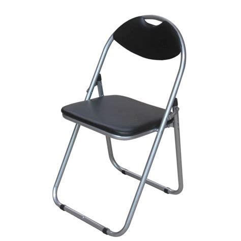soft padded folding chair steel foldable chair faux