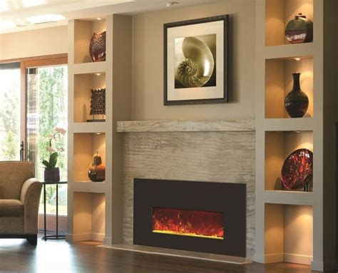 built in wall mount fireplace 25 best ideas about wall mount electric fireplace on
