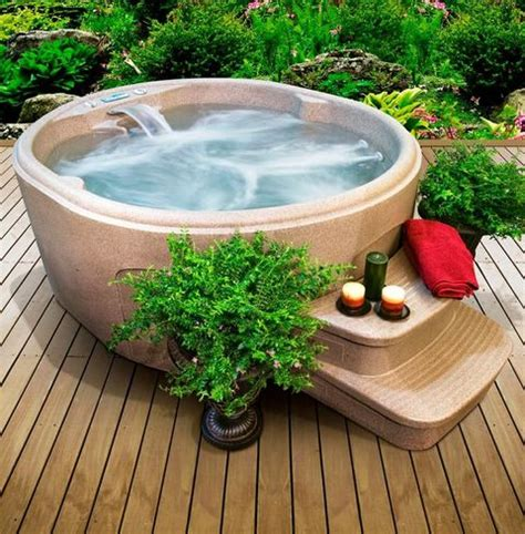 backyard hot tub 50 relaxing and dreamy outdoor hot tubs comfydwelling com