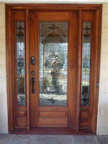 made front door w sidelights by ajc woodworking
