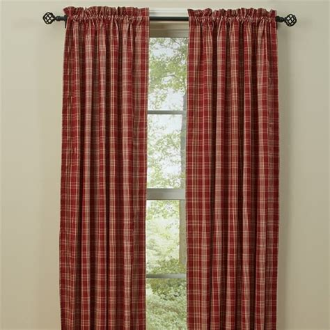72 curtains drapes barnside lined curtain panels 72 quot x 63 quot park designs
