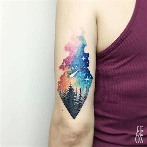 night sky tattoo designs best 25 starry ideas on