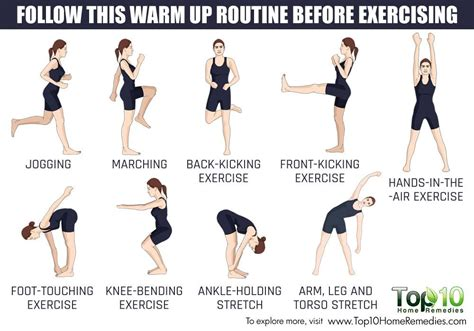 how to do warm up before exercise top 10 home remedies