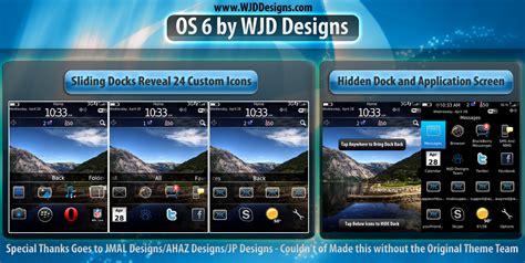 Blackberry Os 6 Themes   blackberry os 6 premium theme by wjd designs n4bb