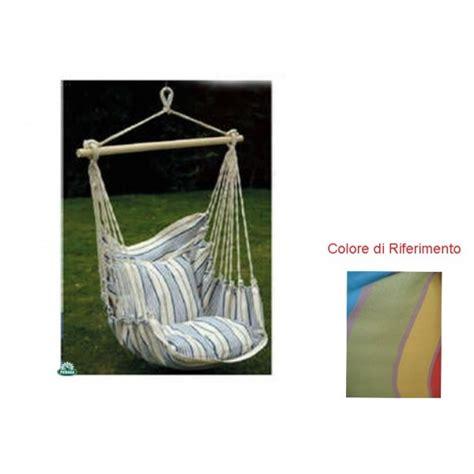 amaca da giardino amaca sedia a dondolo seduta in cotone multicolor amaca da