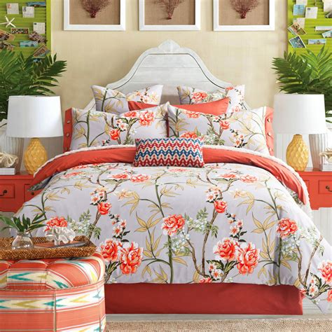 Cheap Quilts by Get Cheap Turquoise Floral Bedding Aliexpress
