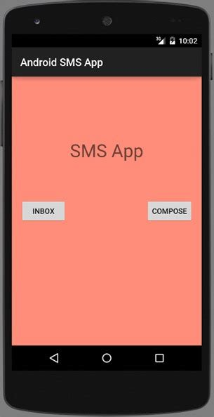 sms android android sms app tutorial java tutorial