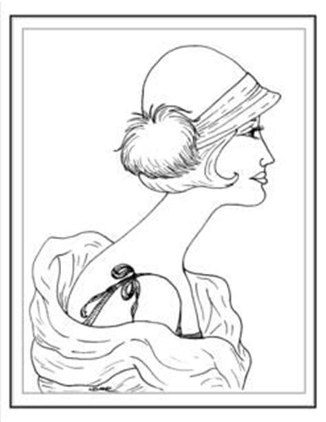 coloring pages art deco art deco fashion coloring pages coloring pages