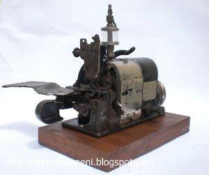 Mesin Obras Pakaian fitinline sejarah mesin obras