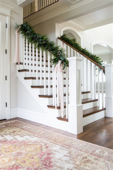 banister garland ideas category christmas decorating ideas home bunch interior design ideas