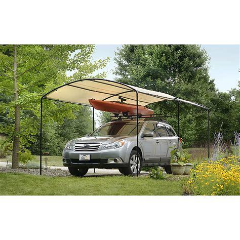 shelterlogic monarc car canopy