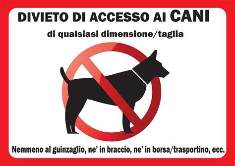 divieto ingresso cani divieto cani a3 pvc 3mm opaco oasi dei quadris oasi