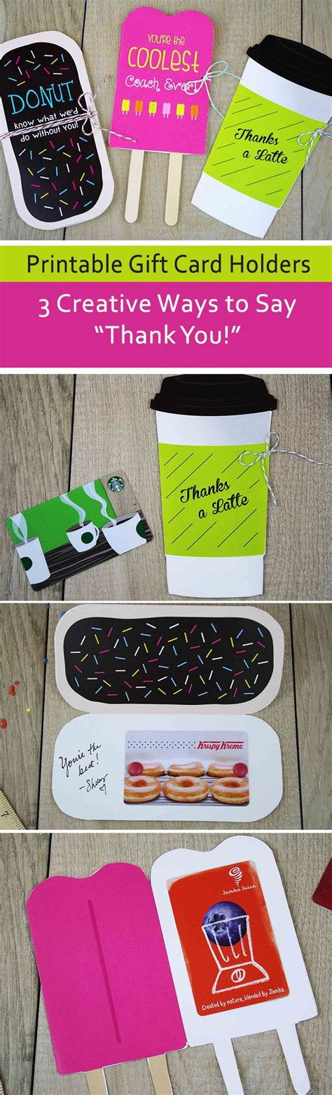 Thank You Gift Card Holders - 17 best images about creative gift card wrapping ideas on pinterest gift card