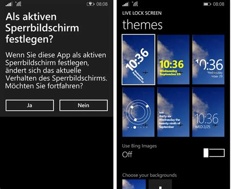 live lock themes windows phone live lock screen beta f 252 r das windows phone steht zum