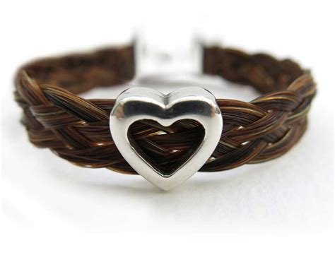Handmade Hair Bracelets - handmade hair bracelets 28 images hair and leather