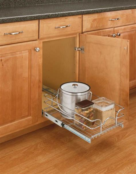 kitchen rev ideas rev a shelf 5wb1 0918 cr this chrome wire basket is