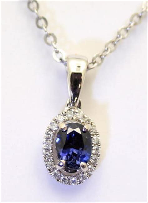 benitoite necklace benitoite gemstone sharon gulezian jewelry