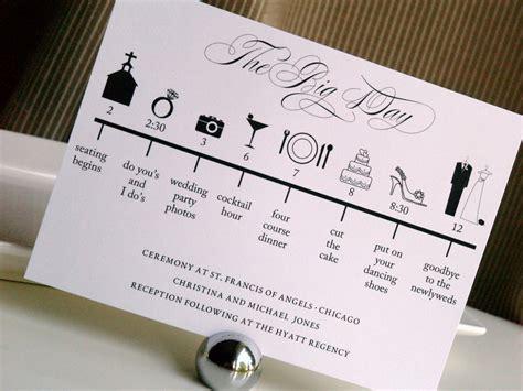 unique wedding program ideas diy custom diy printable wedding timeline in by gracewarrendesigns
