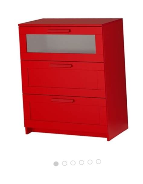 red chest of drawers ikea chest of 3 drawers ikea design red for sale in ashtown