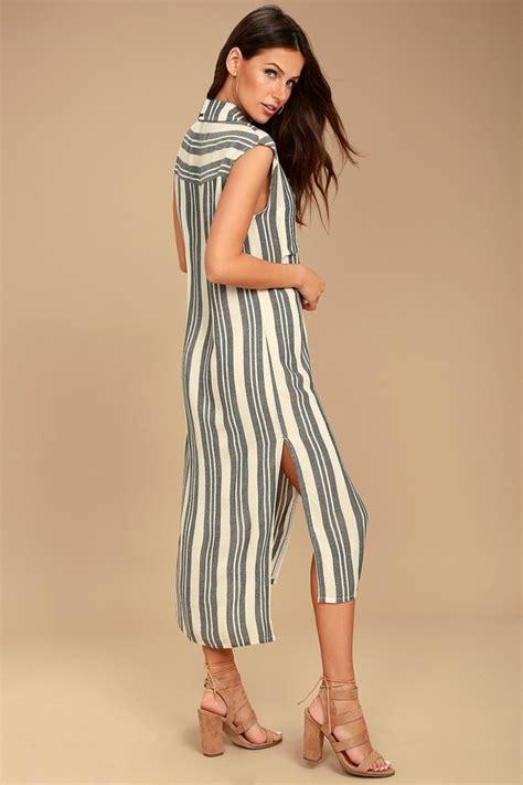 mad from times billabong mad times striped dress shirt dress