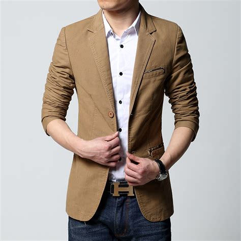 Blazer Jas New Brown Style brown blazer fashion ql