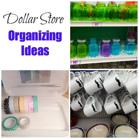 dollar store organization organizing ideas pinterest