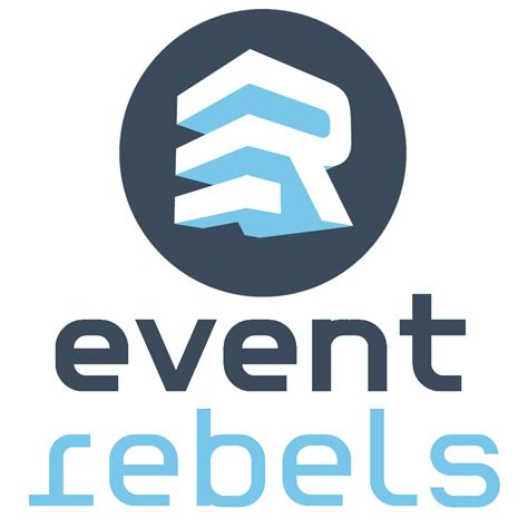 r e logo design mobile monday ori and eventrebels announce partnership to provide new seamless event analytics
