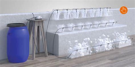 irrigazione balcone senza rubinetto aqua magic system per irrigare a goccia senza