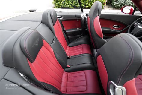 bentley continental interior back seat bentley continental gtc v8 review autoevolution