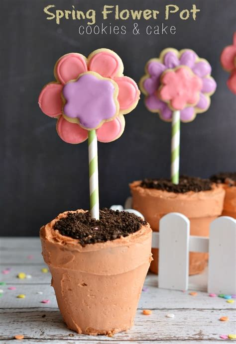 diy flower pot cookies recipe pictures photos and images flower pot cupcakes so cute