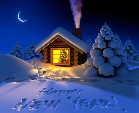 Cabins For New Year by 2560 215 1920