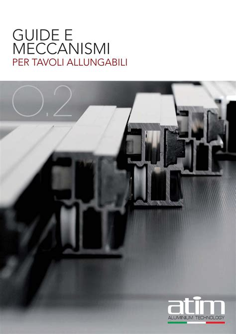meccanismi tavoli allungabili 02 guide e meccanismi per tavoli allungabili by atim s p a