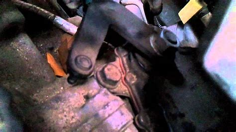 chevy cavalier broken shifter youtube