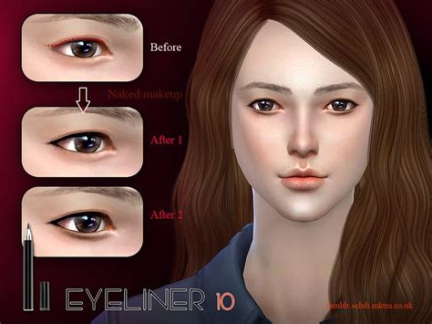 mod the sims acute eyeliner 10 styles 33 best sims 4 maquillage images on pinterest make up