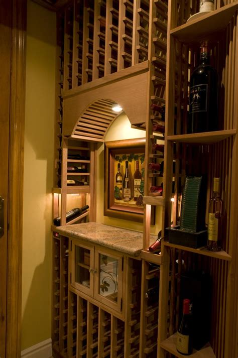 Custom Wine Cellars Los Angeles California Wine Cellar Chandeliers