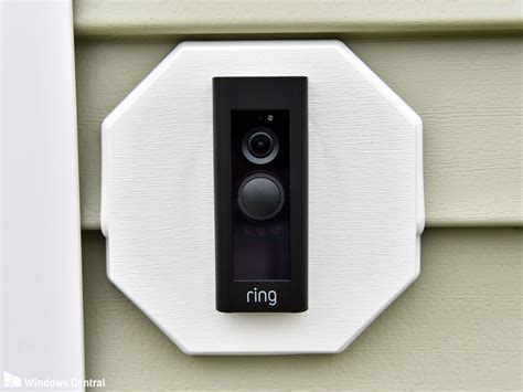 ring doorbell white light ring doorbell pro review a smart doorbell for