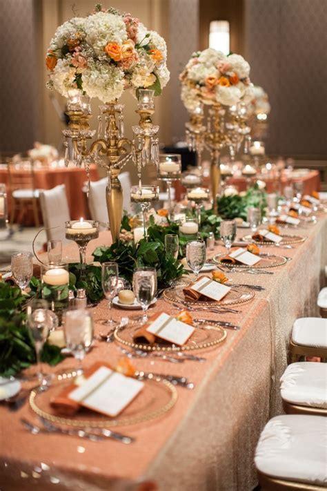 Arizona Wedding: Orange and Gold Glamour   MODwedding