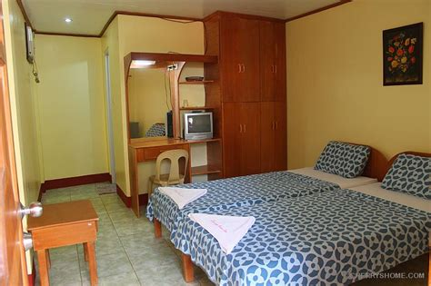how to rent hotel room room accommodation cherrys home resort bohol philippines