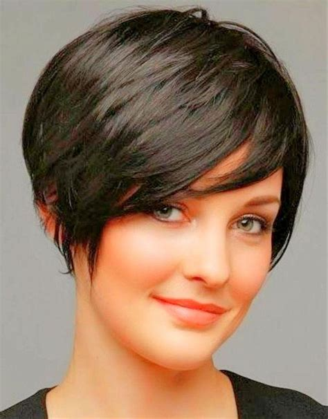 fat face pixie cut 15 best collection of short haircuts for round chubby faces