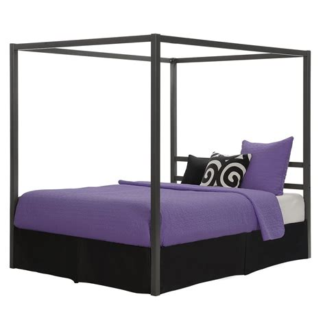 sturdy bed frame queen canopy bed frame sturdy metal frame slat support