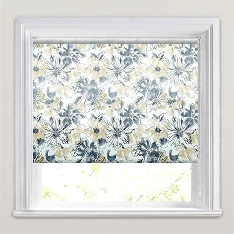 luxury flowers patterned waterproof bathroom roller blinds