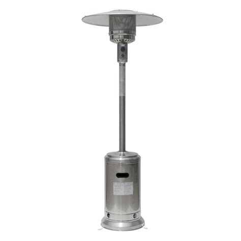 heat l home depot gardensun patio heaters 41 000 btu stainless steel propane