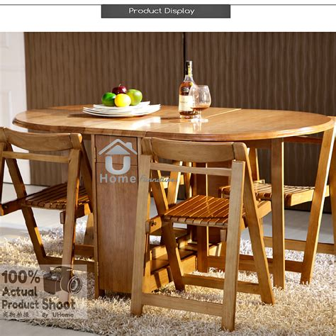 foldable dining table and 4 folding c end 6 3 2018 8 15 pm