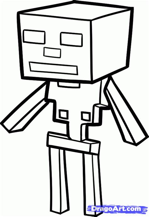 minecraft coloring pages mutant skeleton minecraft coloring pages how to draw a minecraft