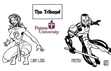 patten university mascot tribunal patten university inks by jaycms on deviantart