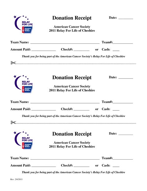 school donation receipt template relay for print forms donation receipt date