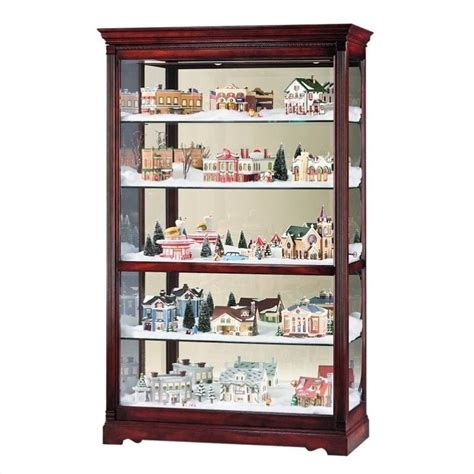 howard miller townsend display curio cabinet 680235