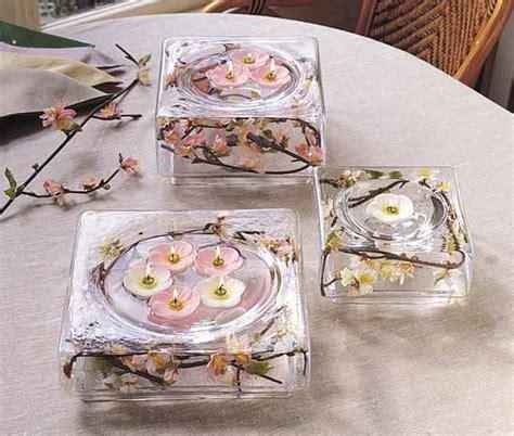 wedding centerpieces square bowls