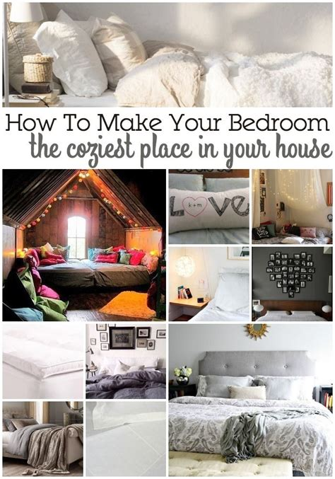 how to make your room cozy decor hacks 15 ways to make your bedroom the coziest