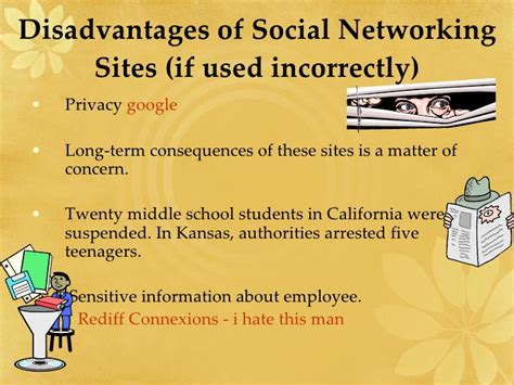 Advantages And Disadvantages Of Social Networks Essay by Social Networking
